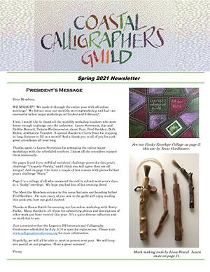 Spring CCG Newsletter